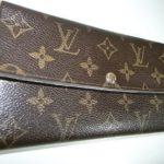 ルイヴィトンの財布全体