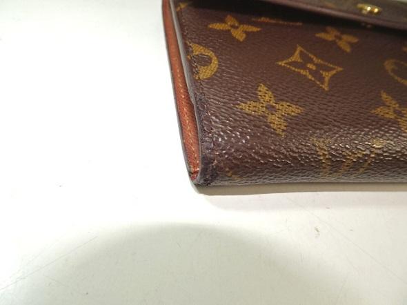 財布のほつれ補修と補強