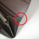 財布の糸ほつれ