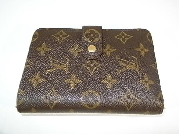 ヴィトンの二つ折り財布