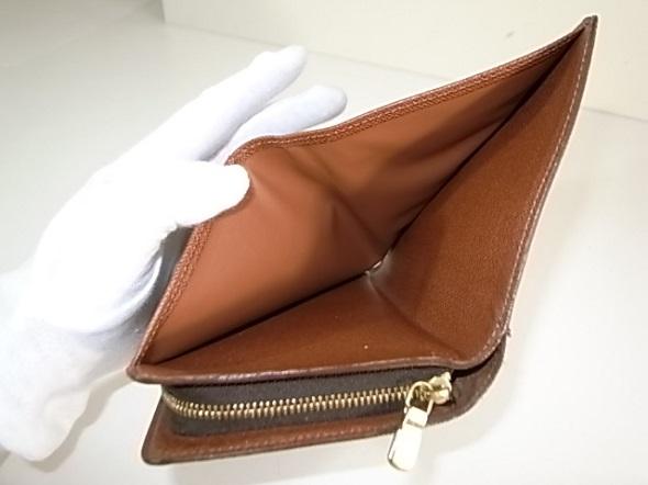 ヴィトン財布の内張り交換後