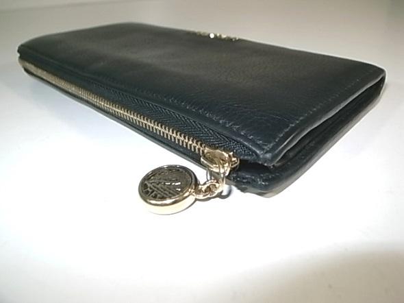 ファスナー修理したブルガリの財布