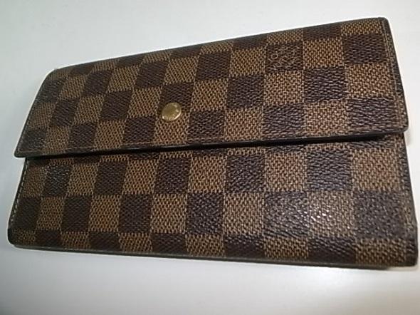 ルイヴィトンダミエの長財布