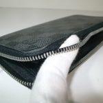 財布のファスナーに穴