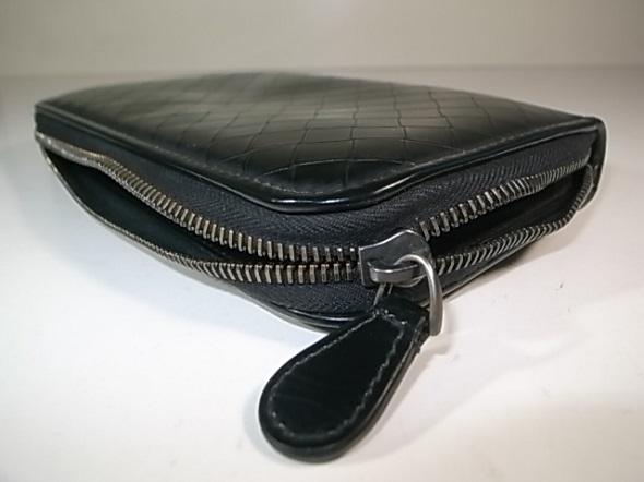財布のラウンドファスナー修理