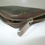 財布のジッパーの錆