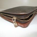 ヴィトン財布のファスナー