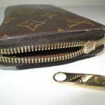 財布のスライダー破損