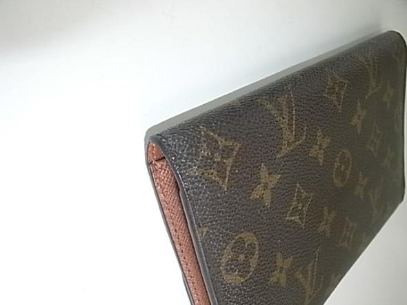 ほつれ直しをしたルイヴィトンの財布