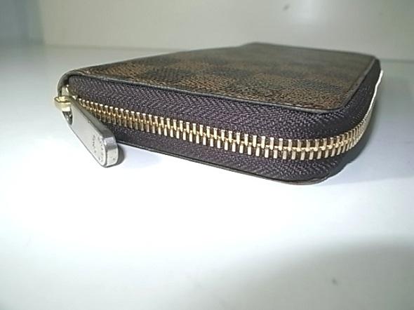 修理後の財布のファスナー