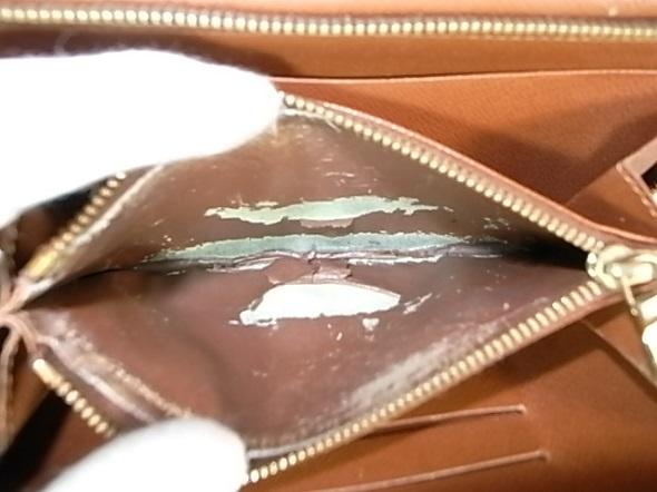 財布の小銭入れの内張り