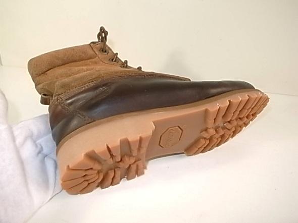 ブーツのソール交換