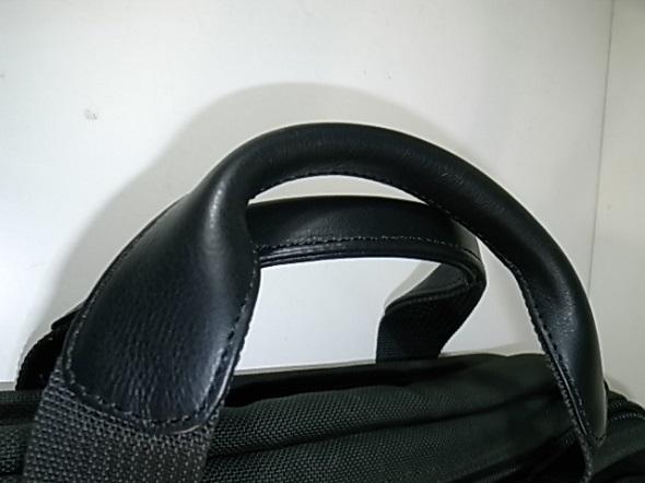 持ち手の革修理をした鞄