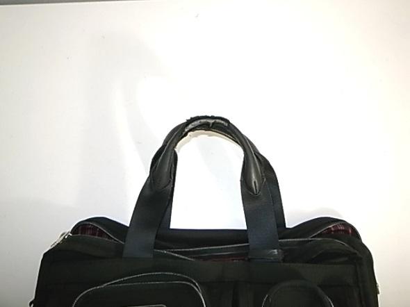 バッグ持ち手の革修理