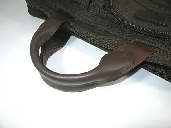 鞄のハンドル取り替え