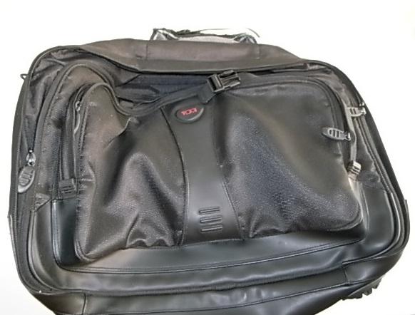 TUMIバッグの持ち手修理