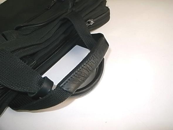 TUMIの鞄修理を別角度から