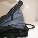 ファスナーが故障した鞄