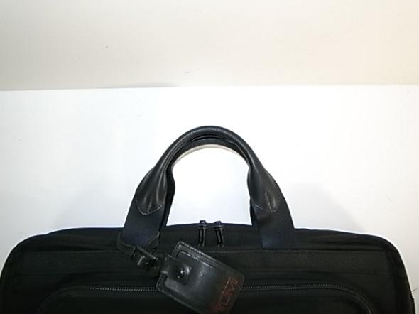 TUMI鞄の持ち手革交換