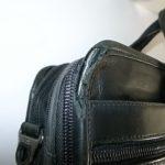 TUMIの鞄のパイピング修理