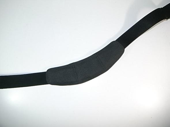 肩パッドの合成ゴム交換