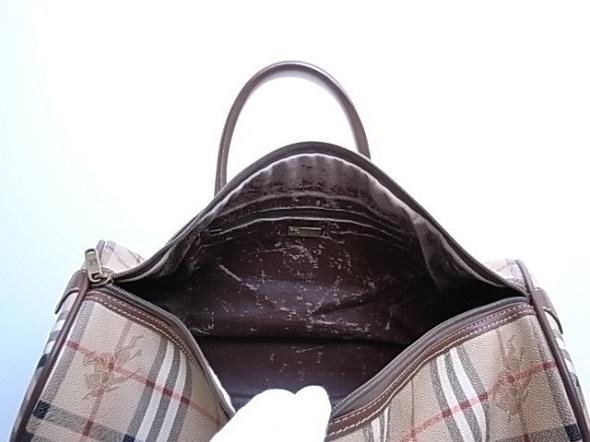 バーバリーのバッグ修理