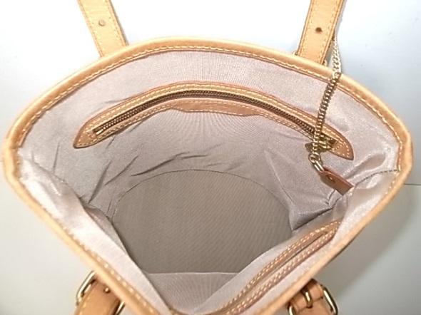バッグの内張りを生地で修理