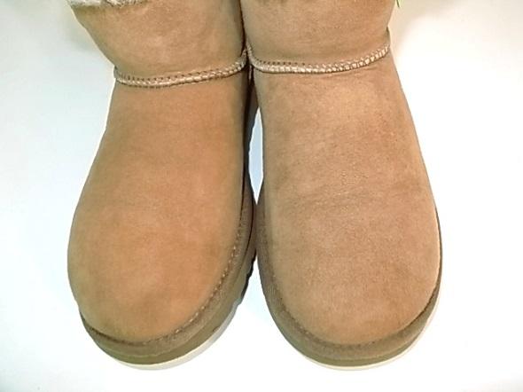 ブーツのシミ抜き