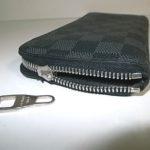ルイヴィトン財布のスライダー破損