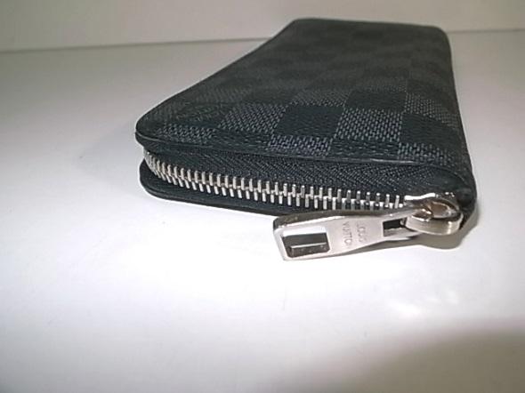 ルイヴィトン財布のスライダー修理