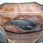 鞄の中のカビと内張り劣化