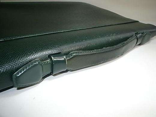 鞄のハンドルの傷み