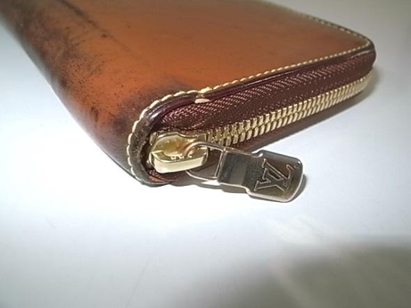 ルイヴィトン財布のファスナー交換