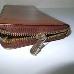 ルイヴィトン財布のファスナー