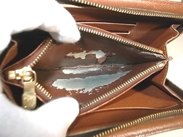 ルイヴィトンの財布の内張り